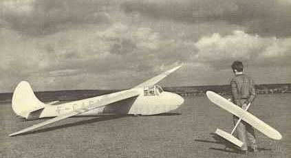 Les avions et planeurs réels